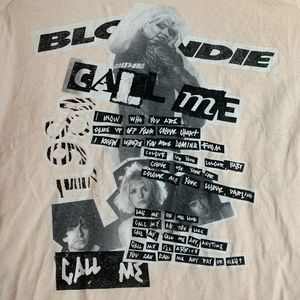 1980 Blonde Call Me tee